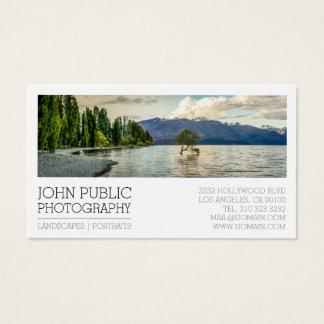 Photographer Photography Plain White Business Card