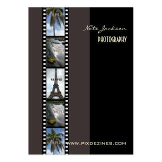Photographer photos template business card