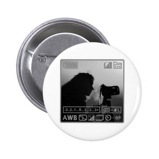 Photographer Pinback Buttons