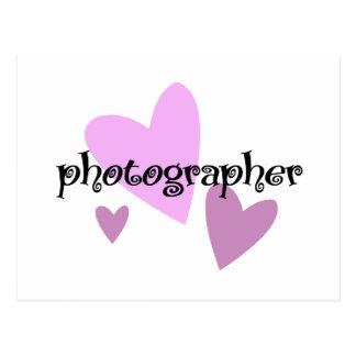Photographer Postcard