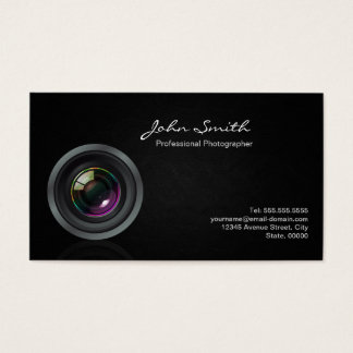 Photographer - Put your best photo on the Back Business Card