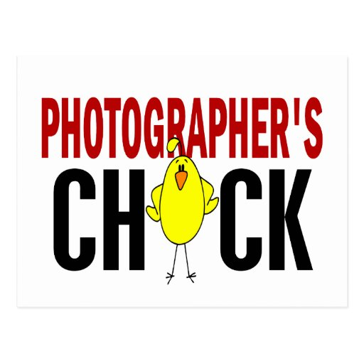 PHOTOGRAPHER'S CHICK POSTCARD
