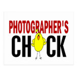 PHOTOGRAPHER'S CHICK POSTCARDS