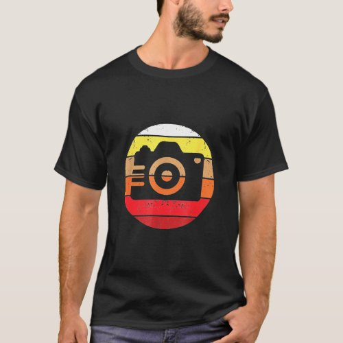 Photographer _ Slr Photographer And Vintage Retro T_Shirt