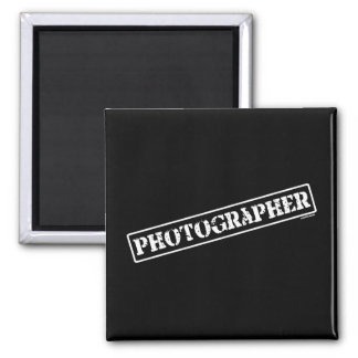 Photographer Stamp Magnets
