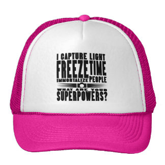 Photographer Superpowers Trucker Hat