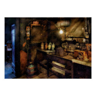 Photographer - The Dark Room Poster