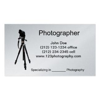 Photographer-Tripod Business Card Templates