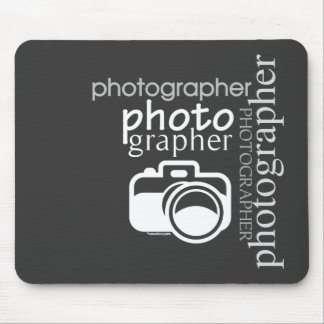 Photographer v.2 mouse pad