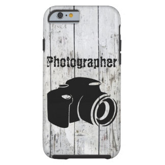 Photographer w/ Camera iPhone 6, Tough Tough iPhone 6 Case