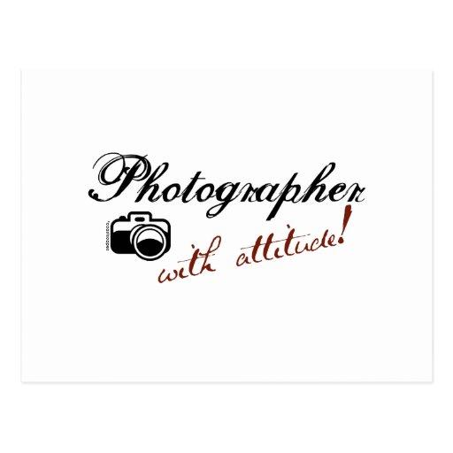 Photographer with Attitude Postcard