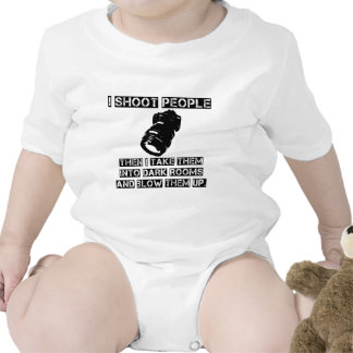 Photographers are So Violent Baby Bodysuits