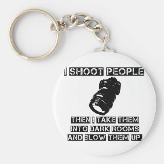 Photographers are So Violent Keychain