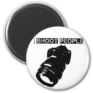 Photographers are Violent 2 Inch Round Magnet