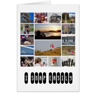 Photographer's card