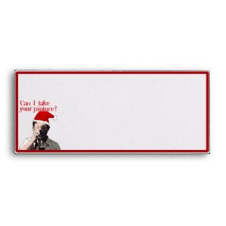 Photographer's Cheesy Pick-up Line Envelopes