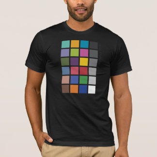 Photographer's Color Checker tee