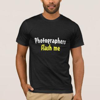Photographers Flash Me T-Shirt