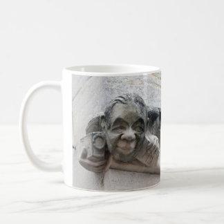 Photographer's gargoyle mug