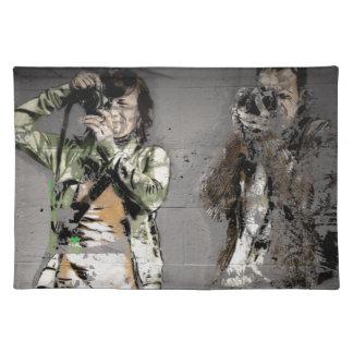 Photographer's Graffiti Cloth Placemat