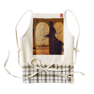 Photographers in silhouette zazzle HEART apron