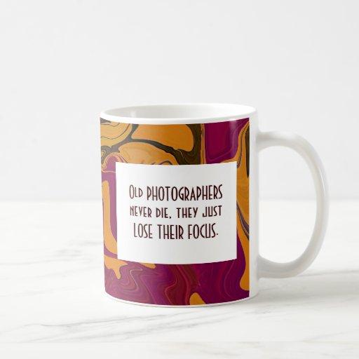 photographers never die classic white coffee mug
