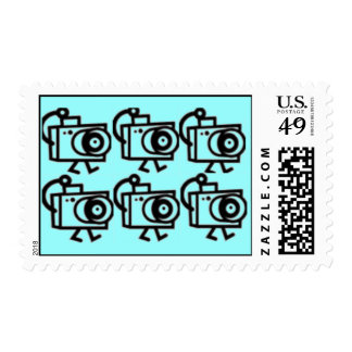 Photographers , Photo and Camera Stamp