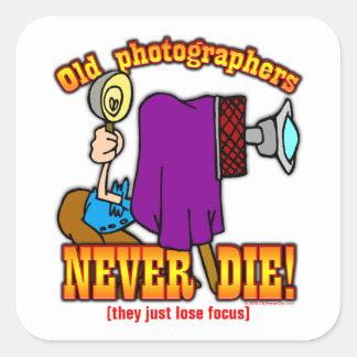 Photographers Square Sticker