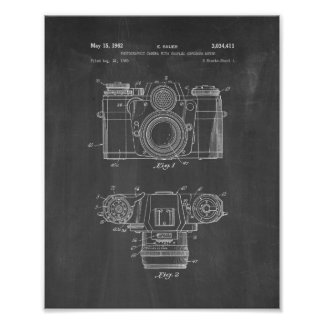 Photographic Camera With Coupled Exposure Meter Pa Poster