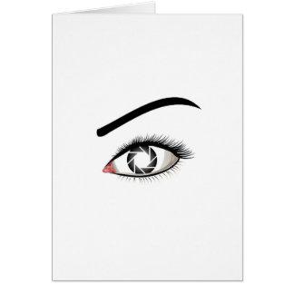 Photographic Eye Card