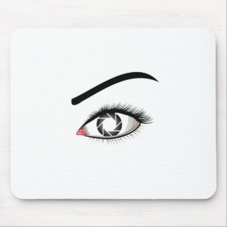Photographic Eye Mouse Pad