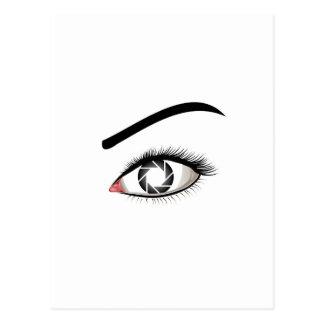 Photographic Eye Postcard