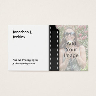 Photographic Film Strip Photography Business Cards