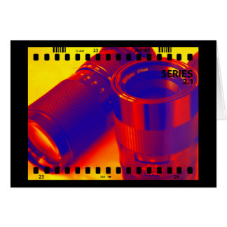 Photographic Lenses Card