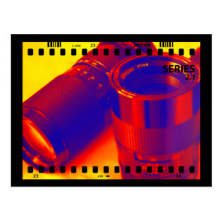 Photographic Lenses Postcard