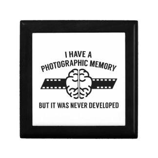 Photographic Memory Keepsake Box