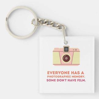Photographic Memory Keychain