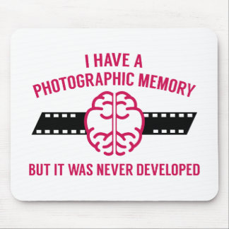 Photographic Memory Mouse Pad