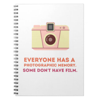Photographic Memory Spiral Notebook