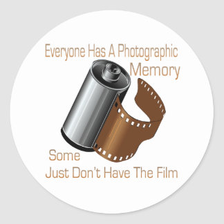 Photographic Memory Stickers