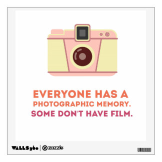 Photographic Memory Wall Sticker