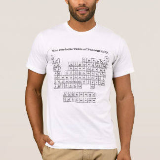 Photographic Table of Elements T-Shirt