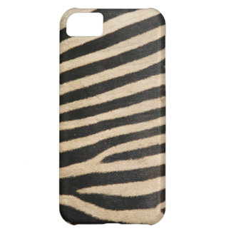 Photographic zebra print, textured. cover for iPhone 5C
