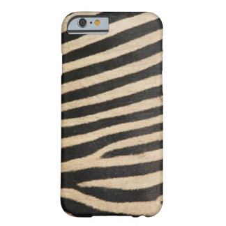 Photographic zebra , textured. barely there iPhone 6 case