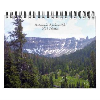 Photographs of Jackson Hole... Calendar