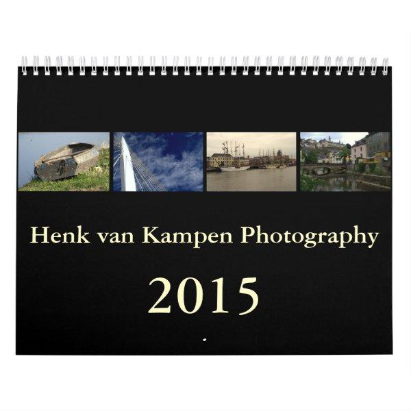 Henk van Kampen Photography 2015 wall calendar