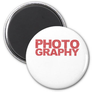 Photography 2 Inch Round Magnet