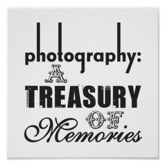 Photography A Treasury of Memories Poster