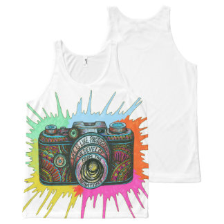 Photography All-Over-Print Tank Top
