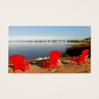Photography Boating Business Card Nature